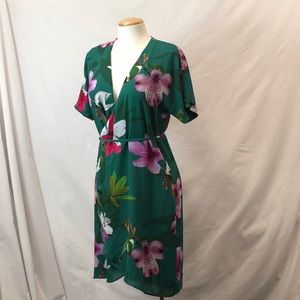 Babaton mini wrap dress - XS